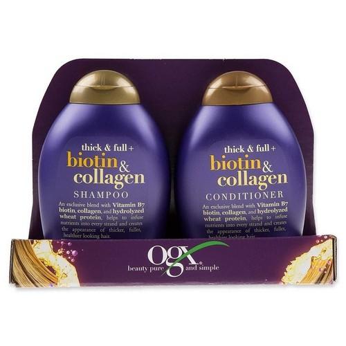 [Siêu sale]bộ dầu gội & xả biotin collagen mỹ 385ml