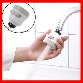 Đầu Vòi tăng áp 3 chế độ phun xoay 360 độ - Vòi tăng áp lực nước bồn rửa bát - Đầu Vòi tăng áp 3 chế độ phun xoay 360 độ thumbnail