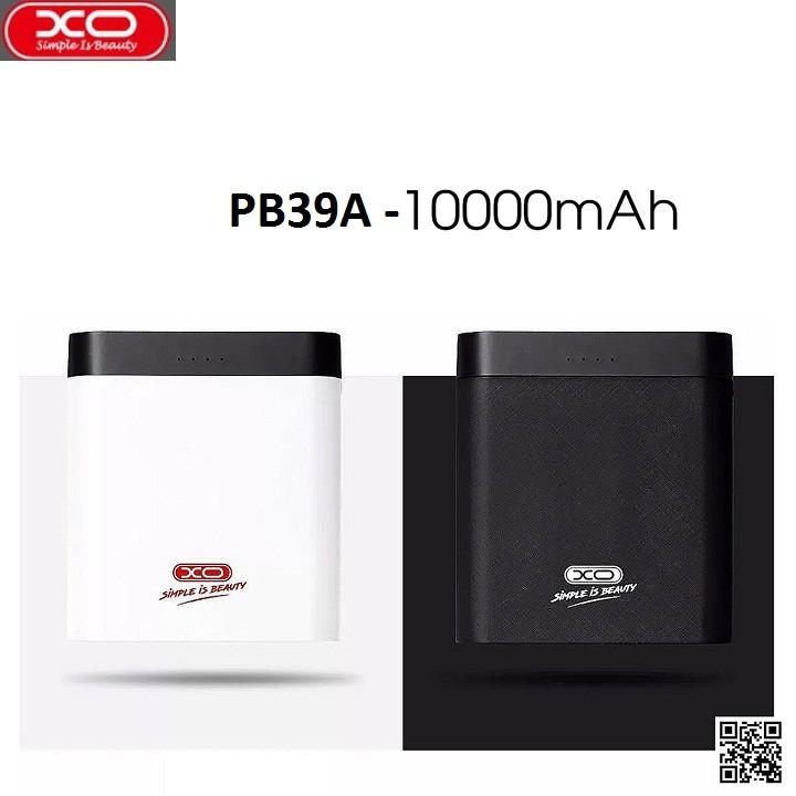 Pin Sạc Dự Phòng XO - PB39 10.000 mAh - Hàng chính hãng