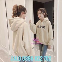 [Xem hàng trước] Áo hoodie nữ FORM RỘNG DÀI DƯỚI 68KG