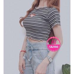 Áo croptop nữ dễ thương