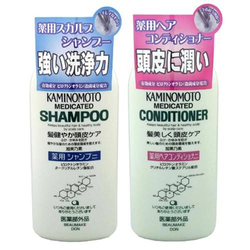 Bộ dầu gội dầu xả kích thích mọc tóc kaminomoto medicated shampoo 300ml - 17486183 , 21352955 , 15_21352955 , 760000 , Bo-dau-goi-dau-xa-kich-thich-moc-toc-kaminomoto-medicated-shampoo-300ml-15_21352955 , sendo.vn , Bộ dầu gội dầu xả kích thích mọc tóc kaminomoto medicated shampoo 300ml