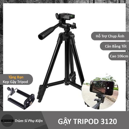 Gậy 3 chân máy ảnh tripod 3120 mẫu mới - 17487490 , 21355302 , 15_21355302 , 120000 , Gay-3-chan-may-anh-tripod-3120-mau-moi-15_21355302 , sendo.vn , Gậy 3 chân máy ảnh tripod 3120 mẫu mới