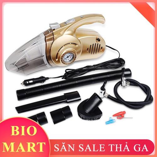 Máy hút bụi xe hơi ô tô cầm tay 4 trong 1 kiêm bơm lốp đèn pin và áp suất có thể hút cả khô và ướt - máy hút bụi cầm tay oto, xe hơi kiêm bơm lốp xe đa năng - 17489222 , 21358098 , 15_21358098 , 560000 , May-hut-bui-xe-hoi-o-to-cam-tay-4-trong-1-kiem-bom-lop-den-pin-va-ap-suat-co-the-hut-ca-kho-va-uot-may-hut-bui-cam-tay-oto-xe-hoi-kiem-bom-lop-xe-da-nang-15_21358098 , sendo.vn , Máy hút bụi xe hơi ô tô cầ
