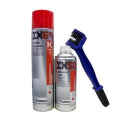 Combo vệ sinh sên bảo dưỡng sên Ix69 Ix50 và Bàn chải