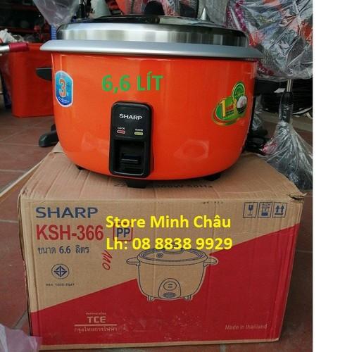 Nồi cơm điện công nghiệp shap ksh366 - 6.6 lit - 17490434 , 21359961 , 15_21359961 , 1450000 , Noi-com-dien-cong-nghiep-shap-ksh366-6.6-lit-15_21359961 , sendo.vn , Nồi cơm điện công nghiệp shap ksh366 - 6.6 lit
