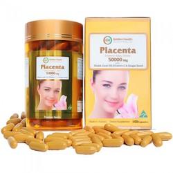 Nhau Thai Cừu Golden Health Placenta 50000mg 100 Viên