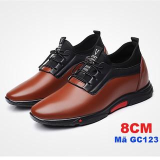 Giày lười sneaker nam tăng chiều cao 8 cm-GC123 - GC123 thumbnail