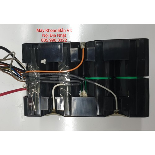Khối pin xe đạp điện 7cell pana 26650 dòng xả 15a - 20a