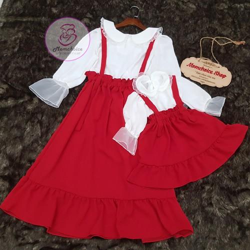 Set áo và váy yếm - 2 màu cho mẹ và bé gái - 13394973 , 21609899 , 15_21609899 , 390000 , Set-ao-va-vay-yem-2-mau-cho-me-va-be-gai-15_21609899 , sendo.vn , Set áo và váy yếm - 2 màu cho mẹ và bé gái