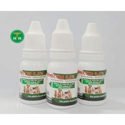 IVERMECTIN0.5 -10ml -chấy rận - ve ghẻ- bọ chét - mòng mạt