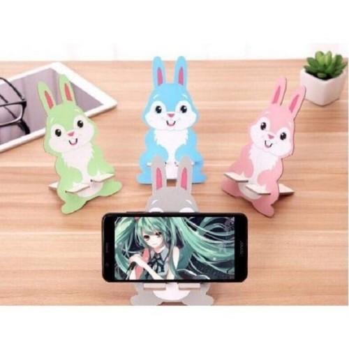 Giá đỡ điện thoại hình mèo thỏ gấu