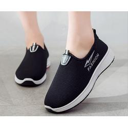 Giày lười nữ jean 3 màu chữ S model 2021