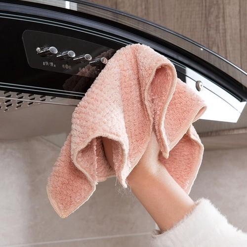 Combo 5 khăn lau chén bát, khăn lau nhà bếp đa năng loại dầy dặn