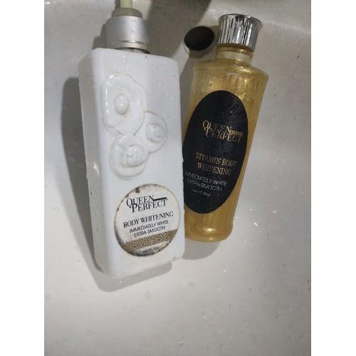 Combo ủ nhả nắng trắng da và sữa tắm trắng da vàng 24k