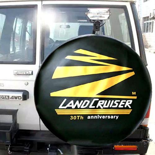 Bọc lốp dự phòng xe ô tô toyota land cruiser