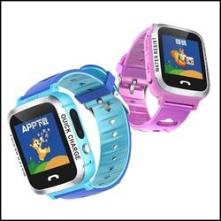 Đồng hồ thông minh định vị trẻ em Smart Watch Baby V12, có tiếng Việt, hỗ trợ GPS-LBS, màn hình cảm ứng, chống nước IP67, camera chụp hình, nghe gọi 2 chiều