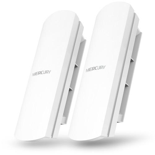 Bộ thu phát không dây cho camera ip, phát wifi ngoài trời lên đến 1km - mercury mwb201