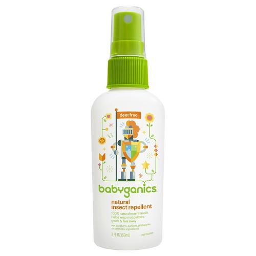 Tinh dầu xịt chống muỗi Babyganics 59ml - Mỹ