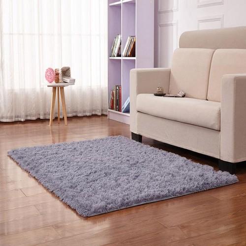 Thảm lông loang trải sàn hàng đẹp 2019 - thảm trải sàn