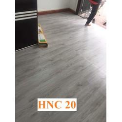 Sàn nhựa giả gỗ keo tự dán HNC 20, combo 60 miếng