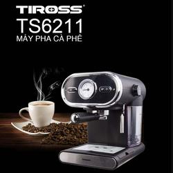 Máy pha cà phê áp lực 15 bar Tiross TS6211
