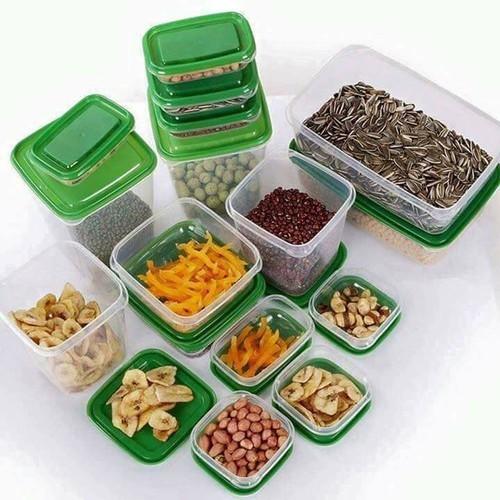 Bộ 17 hộp nhựa đựng thực phẩm cao cấp - 13398683 , 21614407 , 15_21614407 , 449000 , Bo-17-hop-nhua-dung-thuc-pham-cao-cap-15_21614407 , sendo.vn , Bộ 17 hộp nhựa đựng thực phẩm cao cấp