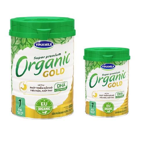 Sữa bột vinamilk organic gold 1 - hộp 850g & 350g