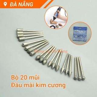Bộ 20 mũi mài khắc đầu kim cương - 24001427 thumbnail