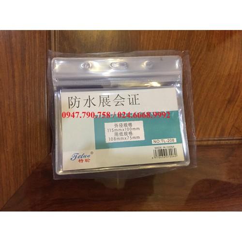 Hộp 50 chiếc bao đeo thẻ nhân viên 208