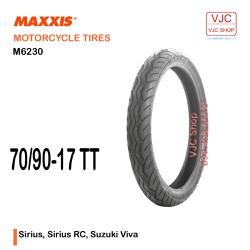 Lốp trước Sirius, Sirius RC, Suzuki Viva Maxxis 70-90-17 TT M6230