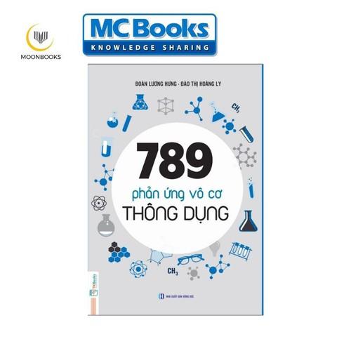 Sách 789 phản ứng vô cơ thông dụng