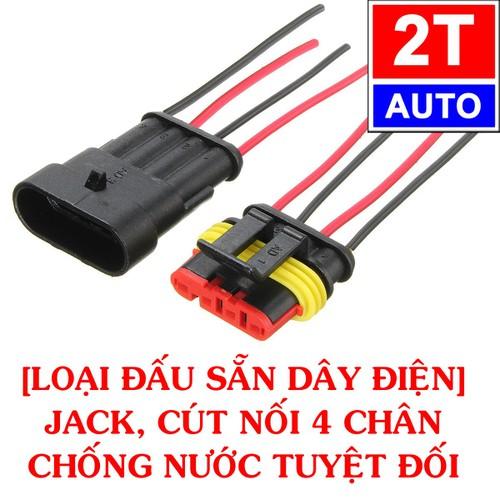 [Loại đấu sẵn dây] đầu cút jack giắc nối dây điện 4 chân chống nước dùng cho xe máy xe hơi ô tô - 13422180 , 21641430 , 15_21641430 , 50000 , Loai-dau-san-day-dau-cut-jack-giac-noi-day-dien-4-chan-chong-nuoc-dung-cho-xe-may-xe-hoi-o-to-15_21641430 , sendo.vn , [Loại đấu sẵn dây] đầu cút jack giắc nối dây điện 4 chân chống nước dùng cho xe máy xe