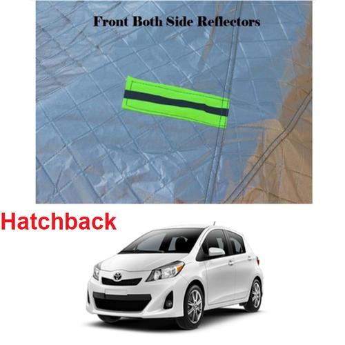Bộ bạt phủ xe hơi, ô tô dùng cho dòng xe hatchback tráng nhôm cao cấp - loại hàng dầy nhập khẩu