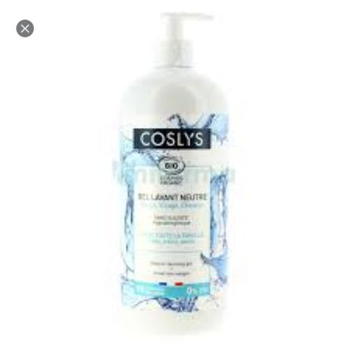 Tắm gội cho da nhạy cảm coslys 1 lít
