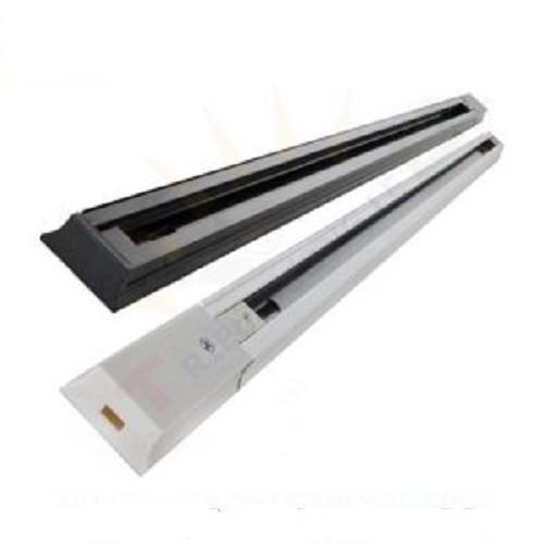 Thanh ray dùng để lắp đèn rọi 1m màu trắng