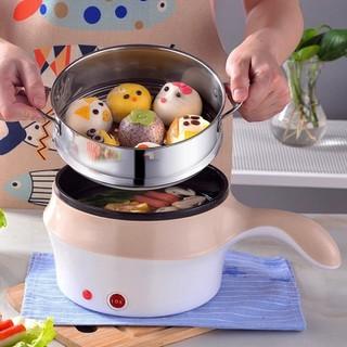 Nồi lẩu điện mini đa năng siêu tốc 1,8L- ca nấu mỳ - ca mỳ - Nồi lẩu điện, mini thumbnail
