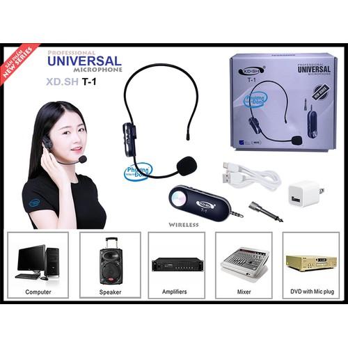 Micro không dây đeo tai universal xd-sh t1 - 13341134 , 21624376 , 15_21624376 , 660000 , Micro-khong-day-deo-tai-universal-xd-sh-t1-15_21624376 , sendo.vn , Micro không dây đeo tai universal xd-sh t1