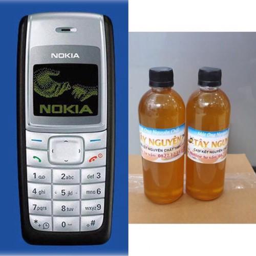 Badgemua 1 điện thoại nokia 1110i   đầy đủ phụ kiện  tặng  1 lít mật ong tặng