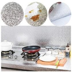 Giấy dán bếp bạc