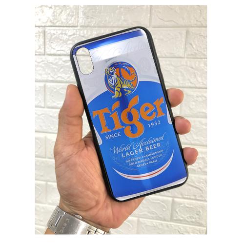 Ốp lưng mặt kính in hình bia cực đẹp dành cho điện thoại iphone