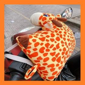 Gối đi xe máy cho bé 35cm hươu cao cổ Grow - gối kê đầu cho bé đi xe máy - goixemayhuougrow