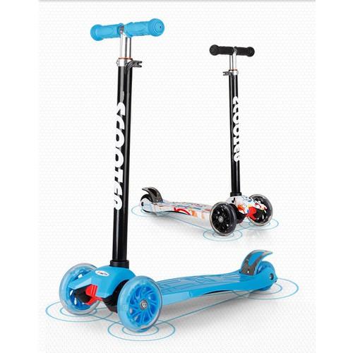 Xe trượt scooter điện- xe scooter- xe scooter cho bé