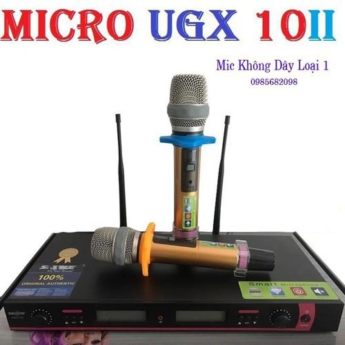 Micro không dây cao cấp ugx 10 ii loại 1 - 13425121 , 21645292 , 15_21645292 , 1850000 , Micro-khong-day-cao-cap-ugx-10-ii-loai-1-15_21645292 , sendo.vn , Micro không dây cao cấp ugx 10 ii loại 1