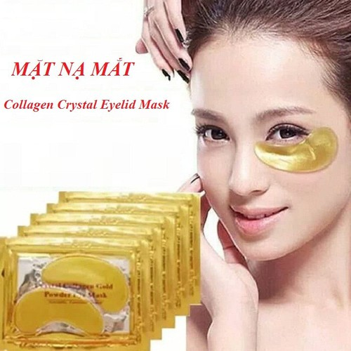 Combo 10 miếng mặt nạ mắt collagen crystal eyelid mask
