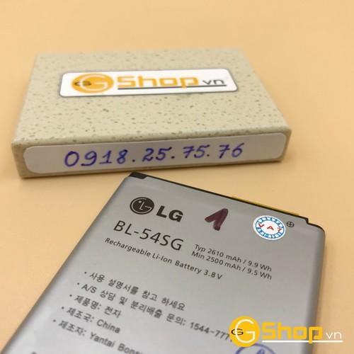 Pin lg f260, bl-54sg, 2610mah chính hãng, loại 1