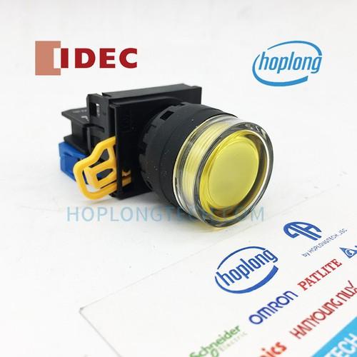 Yw1l-Mf2e01q4y idec nút nhấn có đèn dạng lồi nhấn nhả