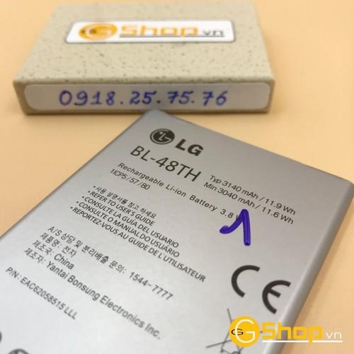 Pin lg bl-48th, 3140mah cho lg e988 chính hãng, loại 1