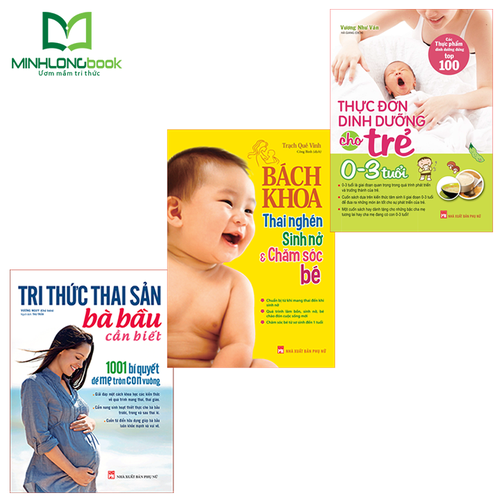 Combo sách: tri thức thai sản + bách khoa thai nghén + thực đơn dinh dưỡng cho trẻ từ 0-3 tuổi - 13169256 , 21627670 , 15_21627670 , 340000 , Combo-sach-tri-thuc-thai-san-bach-khoa-thai-nghen-thuc-don-dinh-duong-cho-tre-tu-0-3-tuoi-15_21627670 , sendo.vn , Combo sách: tri thức thai sản + bách khoa thai nghén + thực đơn dinh dưỡng cho trẻ từ 0-3