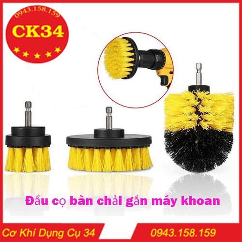 Bộ 3 đầu cọ bàn chải gắn máy khoan cầm tay - dụng cụ vệ sinh nhà cửa lốp xe thông minh - 13427396 , 21647713 , 15_21647713 , 230000 , Bo-3-dau-co-ban-chai-gan-may-khoan-cam-tay-dung-cu-ve-sinh-nha-cua-lop-xe-thong-minh-15_21647713 , sendo.vn , Bộ 3 đầu cọ bàn chải gắn máy khoan cầm tay - dụng cụ vệ sinh nhà cửa lốp xe thông minh